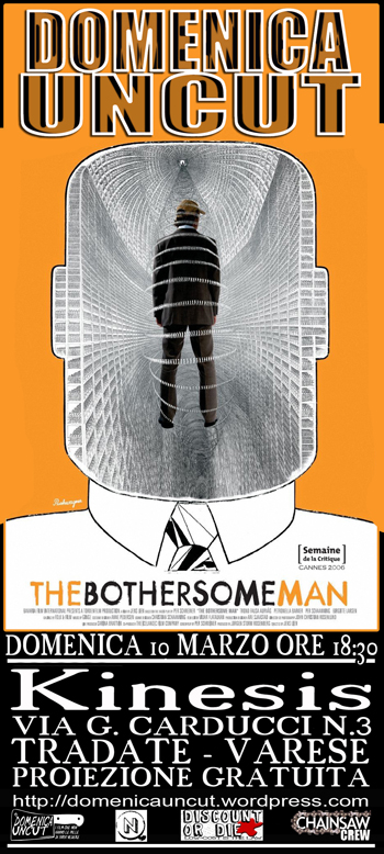 44 The bothersome man  film  proiezione domenica uncut cineforum kinesis tradate varese cineclub
